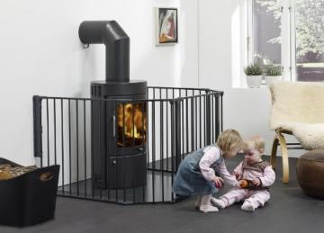 ii ii baby dan kaminschutzgitter testbericht und ratgeber. Black Bedroom Furniture Sets. Home Design Ideas