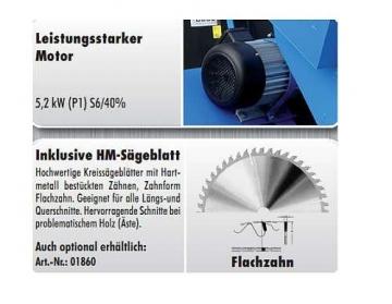 Wippsäge Güde GWS 700 HM 01714